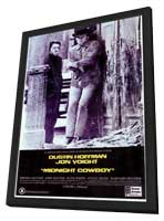Midnight Cowboy - 11 x 17 Movie Poster - Style A - in Deluxe Wood Frame