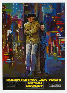 Midnight Cowboy - 27 x 40 Movie Poster - German Style A