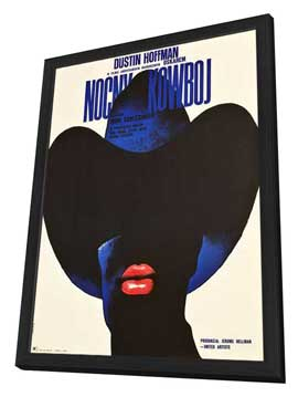 Midnight Cowboy - 27 x 40 Movie Poster - Style C - in Deluxe Wood Frame