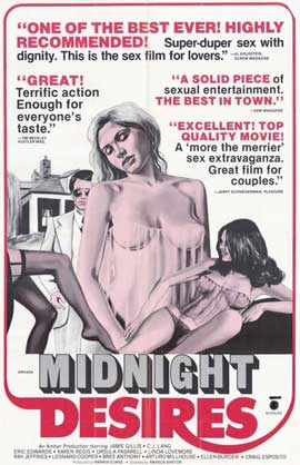 Midnight Desires - 11 x 17 Movie Poster - Style A
