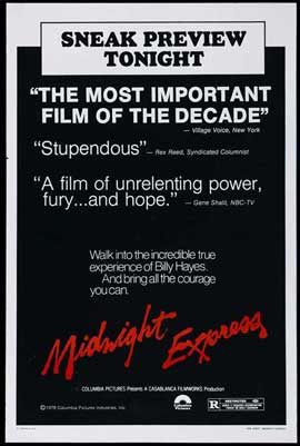 Midnight Express - 27 x 40 Movie Poster - Style D