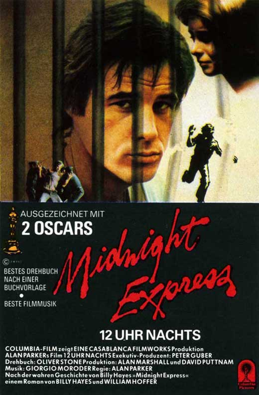 Midnight Express Movie Posters From Movie Poster Shop