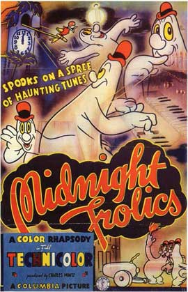 Midnight Frolics - 11 x 17 Movie Poster - Style A