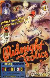Midnight Frolics - 43 x 62 Movie Poster - Bus Shelter Style A