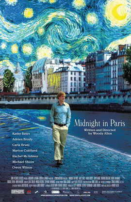 Midnight in Paris - 11 x 17 Movie Poster - Style A