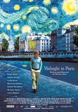 Midnight in Paris - 43 x 62 Movie Poster - Bus Shelter Style A