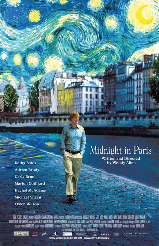 midnight in paris movie posters from movie poster shop. Black Bedroom Furniture Sets. Home Design Ideas