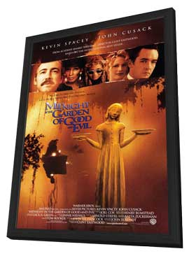 Midnight in the Garden of Good and Evil - 27 x 40 Movie Poster - Style B - in Deluxe Wood Frame