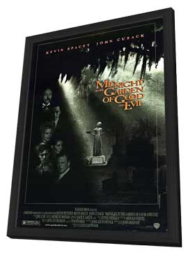 Midnight in the Garden of Good and Evil - 11 x 17 Movie Poster - Style A - in Deluxe Wood Frame