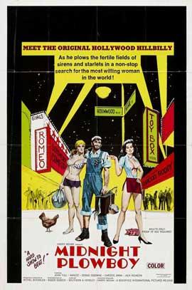 Midnight Plowboy - 11 x 17 Movie Poster - Style B