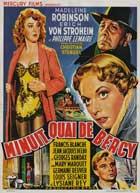 Midnight... Quai de Bercy - 11 x 17 Movie Poster - Belgian Style A