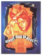 Midnight... Quai de Bercy - 11 x 17 Movie Poster - French Style A