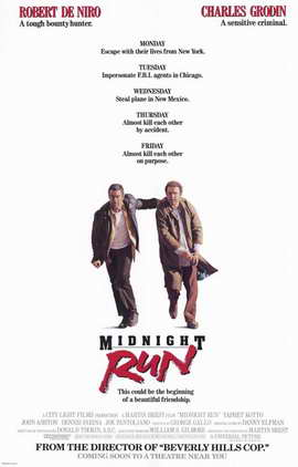Midnight Run - 11 x 17 Movie Poster - Style B