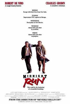 Midnight Run - 27 x 40 Movie Poster - Style B