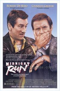 Midnight Run - 43 x 62 Movie Poster - Bus Shelter Style A