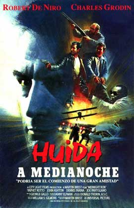 Midnight Run - 11 x 17 Movie Poster - Spanish Style B