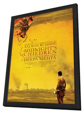 Midnight's Children - 11 x 17 Movie Poster - Canadian Style A - in Deluxe Wood Frame