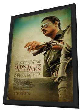 Midnight's Children - 27 x 40 Movie Poster - Canadian Style B - in Deluxe Wood Frame