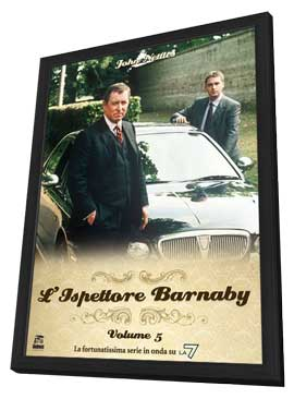 Midsomer Murders - 11 x 17 Movie Poster - Italian Style A - in Deluxe Wood Frame