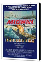 Midway - 27 x 40 Movie Poster - Style A - Museum Wrapped Canvas
