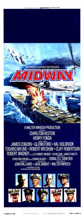 Midway - 14 x 36 Movie Poster - Insert Style A