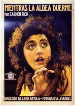 Mientras la Aldea Duerme - 11 x 17 Movie Poster - Spanish Style A