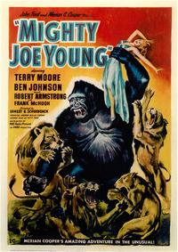 Mighty Joe Young - 43 x 62 Movie Poster - Bus Shelter Style A
