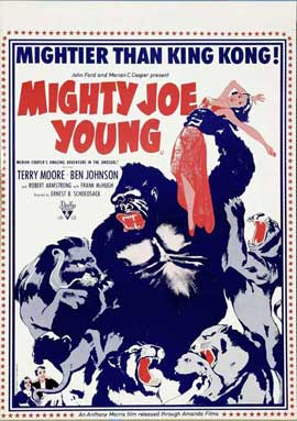 Mighty Joe Young - 11 x 17 Movie Poster - Style C