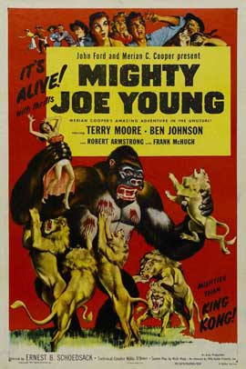 Mighty Joe Young - 27 x 40 Movie Poster - Style D