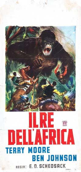 Mighty Joe Young - 13 x 26 Movie Poster - Italian Style A