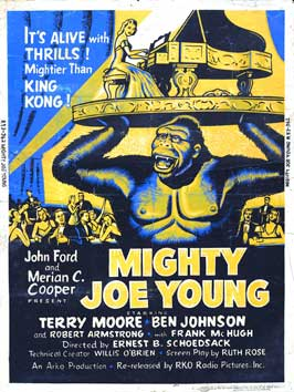 Mighty Joe Young - 27 x 40 Movie Poster - Style B