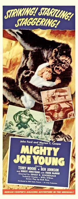 Mighty Joe Young - 22 x 28 Movie Poster - Half Sheet Style A