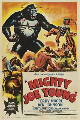 Mighty Joe Young - 14 x 36 Movie Poster - Insert Style A