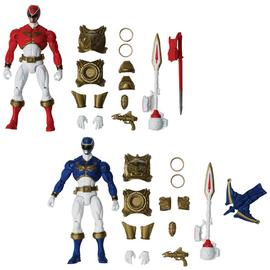 Mighty Morphin Power Rangers: The Movie - Megaforce Armored Might Figure Wave 1 Set