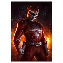 Mighty Morphin Power Rangers: The Movie - Mighty Morphin' Red Ranger Fine Art Lithograph