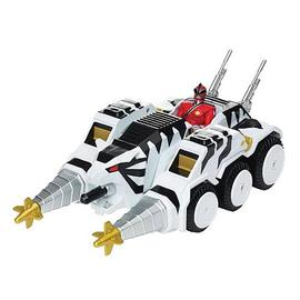 Mighty Morphin Power Rangers: The Movie - Samurai Tiger Tank Vehicle with Figure