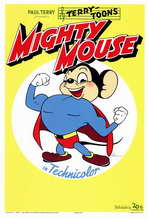 Mighty Mouse - 27 x 40 Movie Poster - Style A