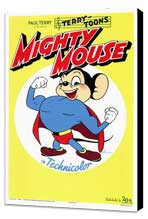 Mighty Mouse - 27 x 40 Movie Poster - Style A - Museum Wrapped Canvas