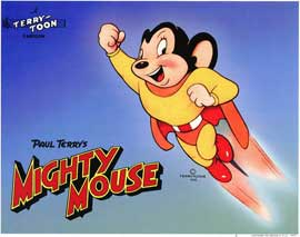 Mighty Mouse - 11 x 14 Movie Poster - Style A