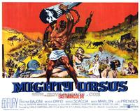 Mighty Ursus - 22 x 28 Movie Poster - Half Sheet Style A