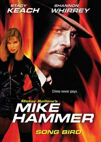 Mike Hammer: Song Bird - 11 x 17 Movie Poster - Style A