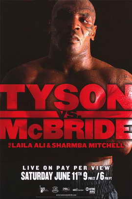 Mike Tyson vs Kevin McBride - 11 x 17 Boxing Promo Poster - Style A