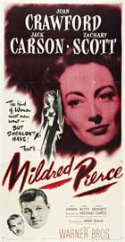 Mildred Pierce - 20 x 40 Movie Poster - Style A