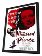 Mildred Pierce - 11 x 17 Movie Poster - Style A - in Deluxe Wood Frame