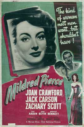 Mildred Pierce - 11 x 17 Movie Poster - Style F