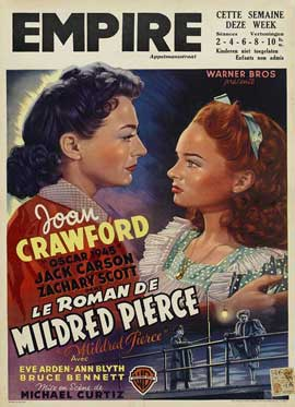 Mildred Pierce - 27 x 40 Movie Poster - Belgian Style B