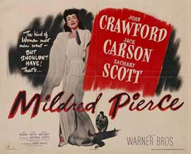 Mildred Pierce - 27 x 40 Movie Poster - UK Style E