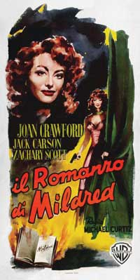 Mildred Pierce - 13 x 28 Movie Poster - Italian Style A