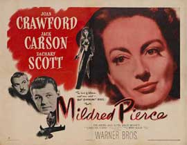 Mildred Pierce - 22 x 28 Movie Poster - Half Sheet Style A