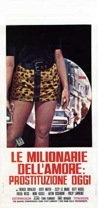 Milionarie Dellamore Prostituzione Oggi, La - 13 x 28 Movie Poster - Italian Style A